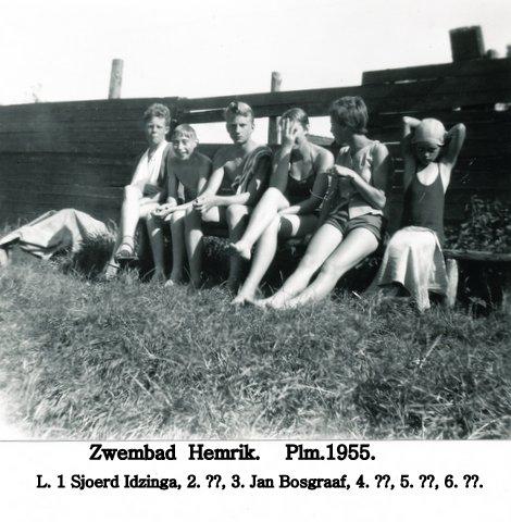 Zwembad Hemrik 1955