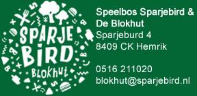 Speelbos Sparjebird & De Blokhut